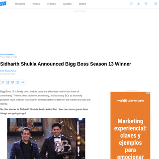 ArchiveBay.com - www.scoopwhoop.com/entertainment/sidharth-shukla-bigg-boss-13-winner/ - Sidharth Shukla Announced Bigg Boss Season 13 Winner