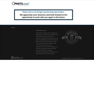 Parts.com® - Automotive Parts, Accessories and Merchandise