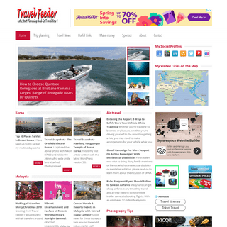 Travel Feeder - Travel blog site sharing photos and guides -