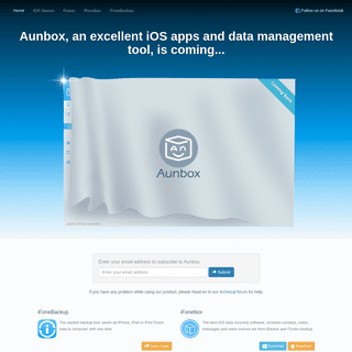 Aunbox, superb software for iPad, iPhone and iPod apps management and data recovery