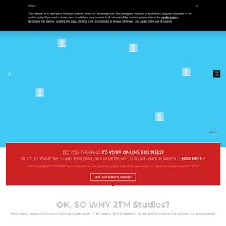 2TM Studios - Creative and revolutionary Web & Media Marketing - Agency
