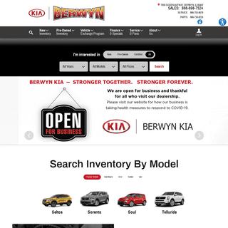 New Kia and Used Car Dealer Serving Berwyn - Berwyn Kia