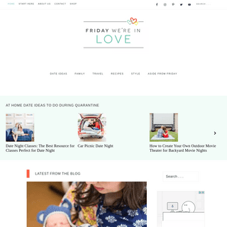 Friday We're in Love - A Marriage. A Pact. A Weekly Date Night. The Best Date Ideas + Family Fun