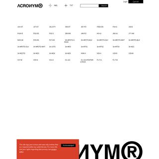 ArchiveBay.com - acrnm.com - ACRONYM®