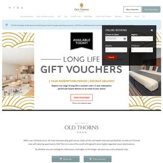 ArchiveBay.com - oldthorns.com - Old Thorns Hotel, Golf and Spa Resort - 4- Hotel in Liphook, Hampshire