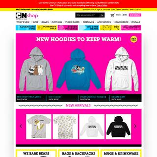 Steven Universe, Adventure Time, and more - CartoonNetworkShop.com - Cartoon Network Shop