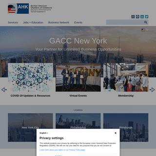GACC New York