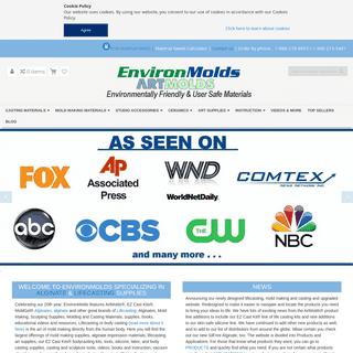 Alginate, Mold Making & Lifecasting Supplies - EnvironMolds, LLC