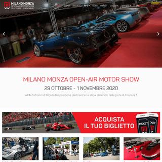 Milano Monza Open-Air Motor Show - Salone Auto & Gran Premio