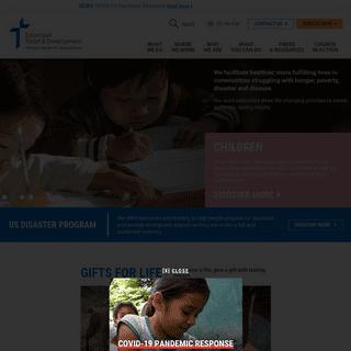 Homepage - Episcopal Relief & Development