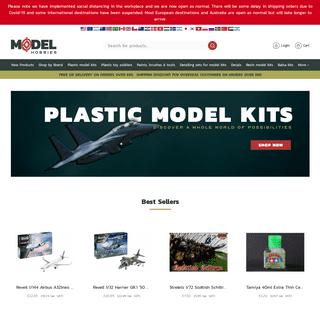Model Hobbies - Plastic Model Kits & Toy Soldiers