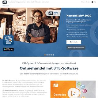 ERP-Software im E-Commerce - Business-Lösungen mit JTL