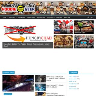 The Foodie Geek - Anime, Games, Food, Music & More!