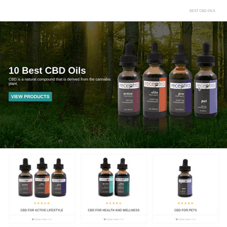 10 Best CBD Oils for Pain & Anxiety 2020
