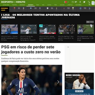 PSG em risco de perder sete jogadores a custo zero no verão