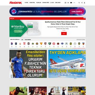 Fanatik Spor Haberleri - SON DAKİKA SPOR HABERLERİ