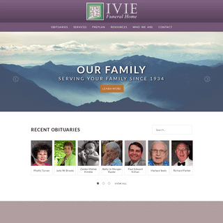 ArchiveBay.com - iviefuneralhomeinc.com - Ivie Funeral Home - Murphy, Hayesville & Andrews, NC Funeral Home & Cremation