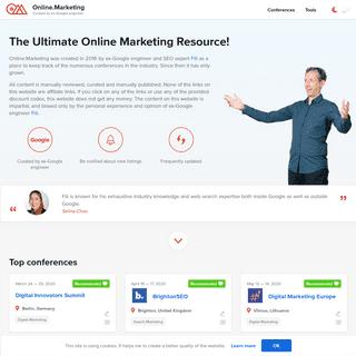 Online.Marketing by ex-Google engineer Fili