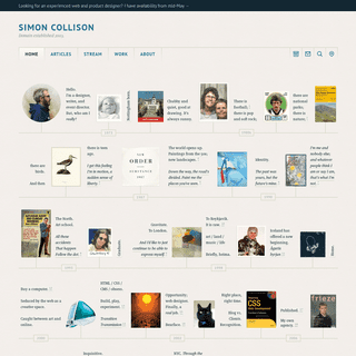 ArchiveBay.com - colly.com - Simon Collison - Home