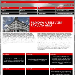 Úvodní strana - FAMU