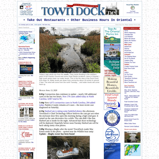 TownDock.net - Oriental NC News, Weather, Photos