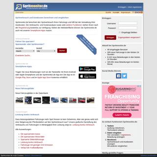 Spritverbrauch berechnen und Autokosten verwalten - Spritmonitor.de
