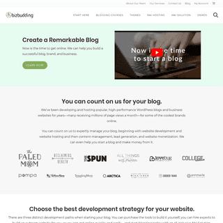 Build the Best Website » BizBudding Inc.
