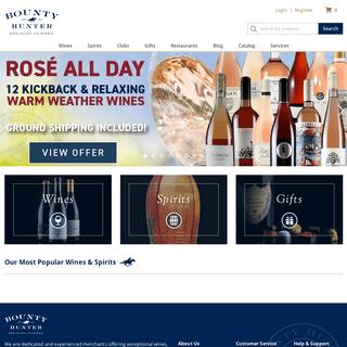 Bounty Hunter Rare Wine & Spirits