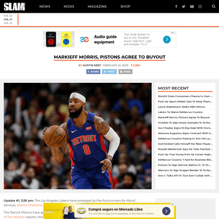 ArchiveBay.com - www.slamonline.com/nba/markieff-morris-pistons-agree-to-buyout/ - Markieff Morris, Pistons Agree To Buyout - SLAM