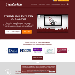 Learn to Speak Arabic Online - Simple & Effective Lessons - Arab Academy