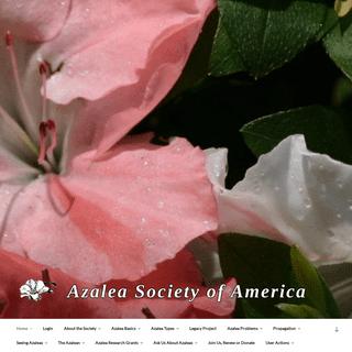 Home - Azalea Society of America