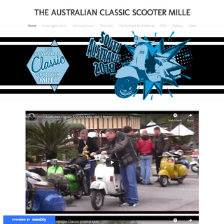 THE AUSTRALIAN CLASSIC SCOOTER MILLE - Home