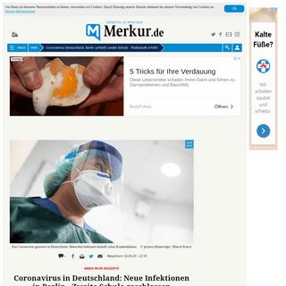 Coronavirus Deutschland-Berlin schließt zweite Schule - Risikostufe erhöht - Welt
