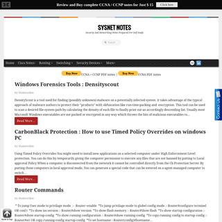 ArchiveBay.com - sysnetnotes.blogspot.com - Sysnet Notes