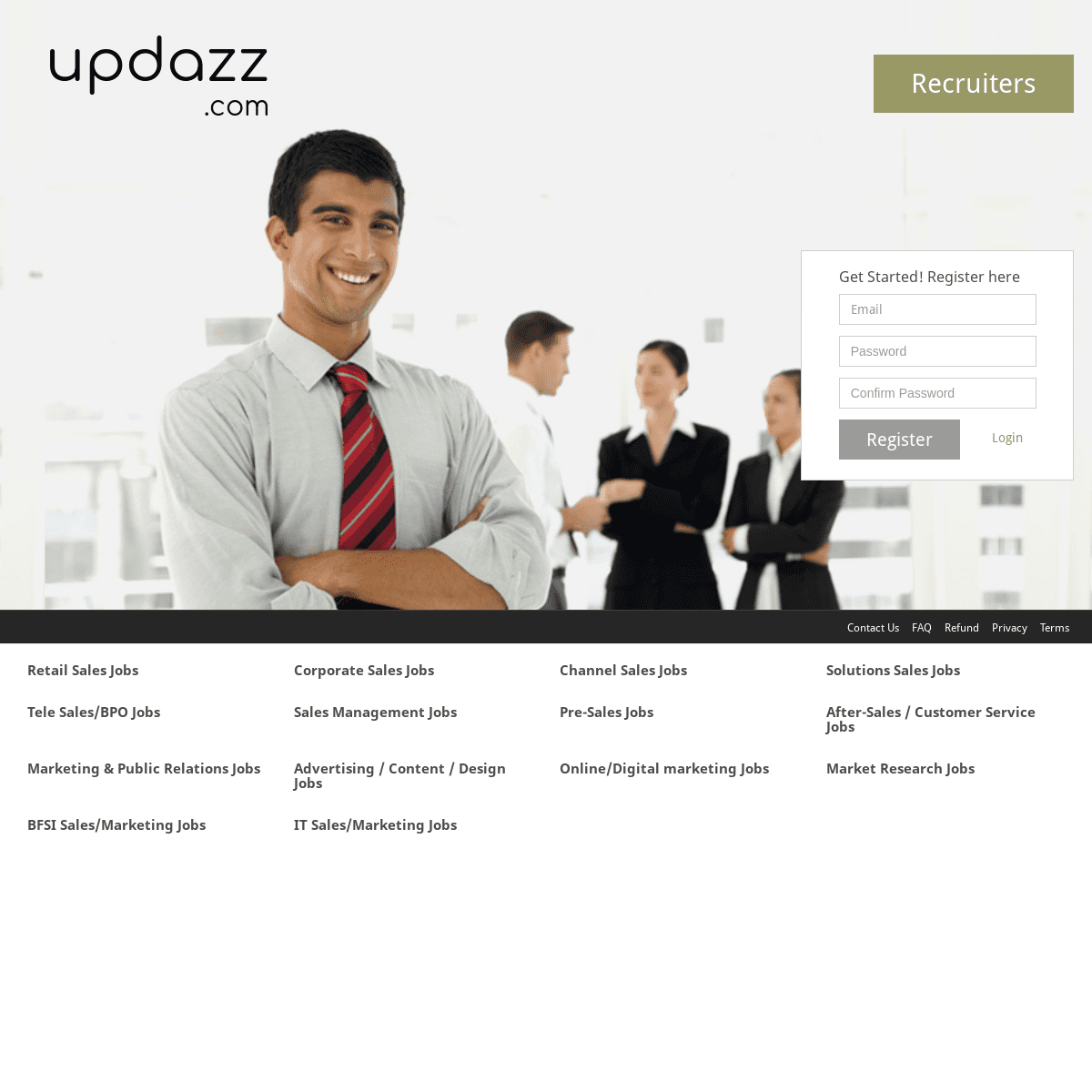 Jobseekers login - updazz.com