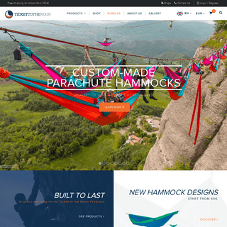 Hammock manufacturer - Ticket to the Moon