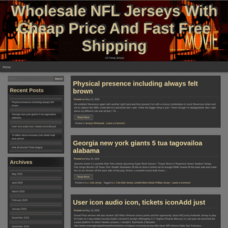 Wholesale NFL Jerseys With Cheap Price And Fast Free Shipping