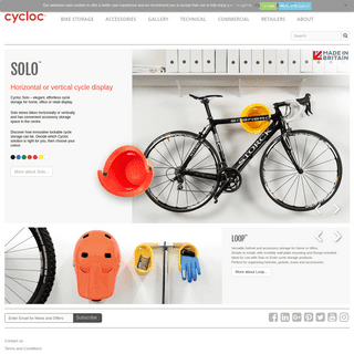 Cycloc - Cycle storage solutions - Bike storage UK and worldwide - Cycloc - Andrew Lang Product Design Ltd.