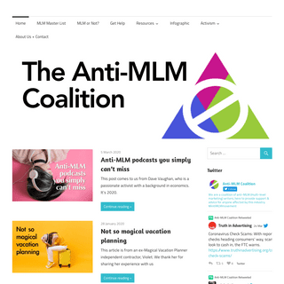 ArchiveBay.com - mlmtruth.org - The Anti-MLM Coalition -