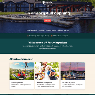 Furuvik – Välkommen!