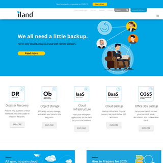 iland Secure Cloud Hosting Services - Secure and Compliant Cloud Hosting