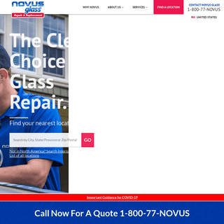 Auto Glass Repair - NOVUS Auto Glass Specializes in Auto, Residential & Business Glass