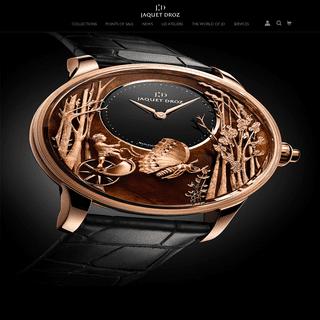 Luxury watches - Jaquet Droz