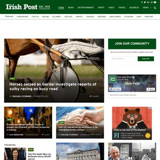 The Irish Post - latest news for the Global Irish
