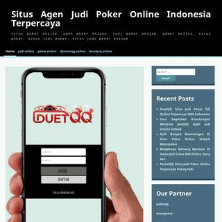 Situs Agen Judi Poker Online Indonesia Terpercaya - situs poker online, agen poker online, judi poker online, poker online, situ