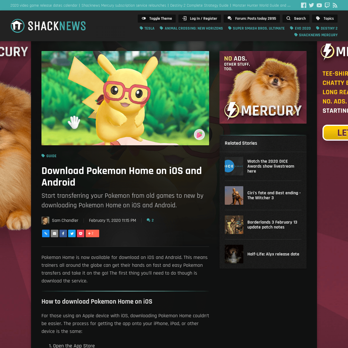 Download Pokemon Home on iOS and Android - Shacknews
