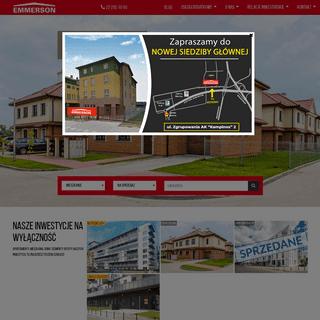 ArchiveBay.com - emmerson.pl - Mieszkania, domy, lokale, hale, biura, sprzedaż i wynajem - biuro nieruchomości Emmerson Realty S.A.