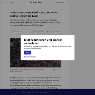 ArchiveBay.com - www.nzz.ch/sport/kein-schweizer-im-final-zum-auftakt-der-skiflug-saison-am-kulm-ld.1540733 - Kein Schweizer im Final zum Auftakt der Skiflug-Saison am Kulm - NZZ