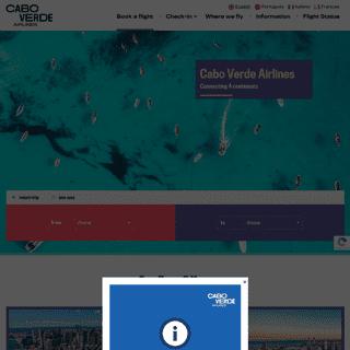 Amazing destinations - Cabo Verde Airlines