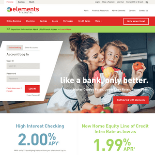 Home - Elements Financial